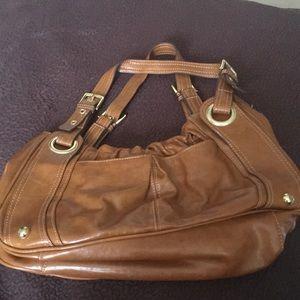 Purse Mondani Brown Faux Leather